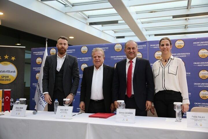 Vakıfbank Okan Üniversitesi Sponsorluk İmza Töreni